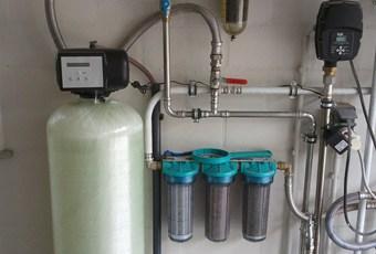 Waterbehandeling installatie